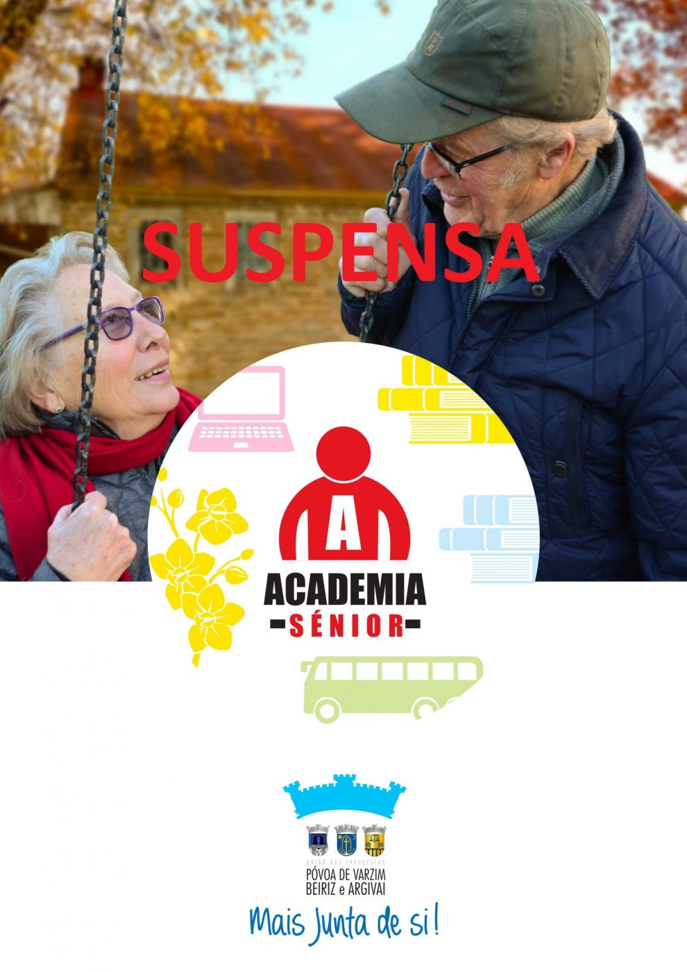 Academia Sénior sUSPENSA
